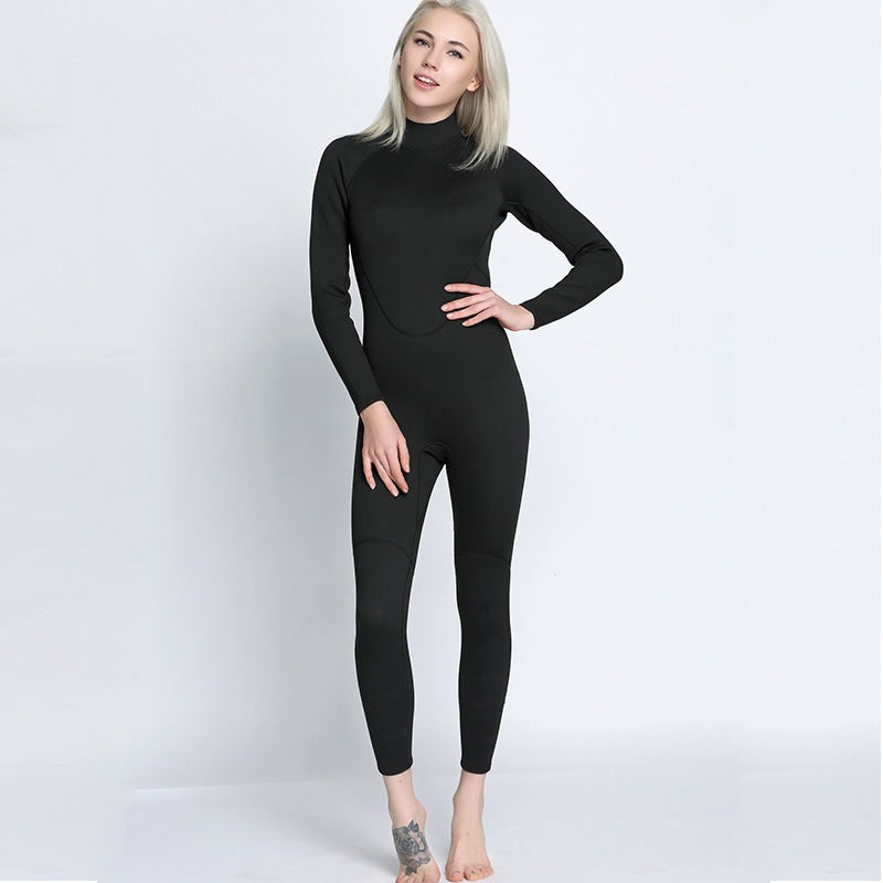 Muškarci i žene od 2 mm, pune crne pantalone sa dugim rukavima, - Sportska odjeća i pribor - Foto 6