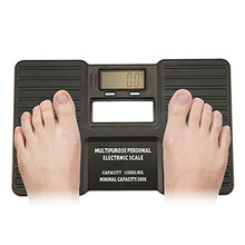 Portable Fitness Bathroom Multipurpose Weight Measuring with LCD Display Digital Electronic Balance Body Health Scale
