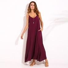 f6f754cf56f Средства ухода за кожей для будущих мам одежда 2018 летние беременные Для  женщин Повседневное Свободные длинное пляжное платье в.