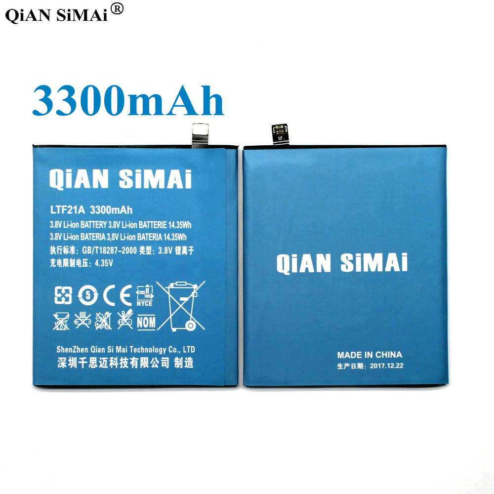 QiAN SiMAi LTF21A 3300 mAh Batterie pour Letv LeEco Le 2X620 Remplacement de la batterie LTF21A Pour Letv Le 2 Pro/Letv X520