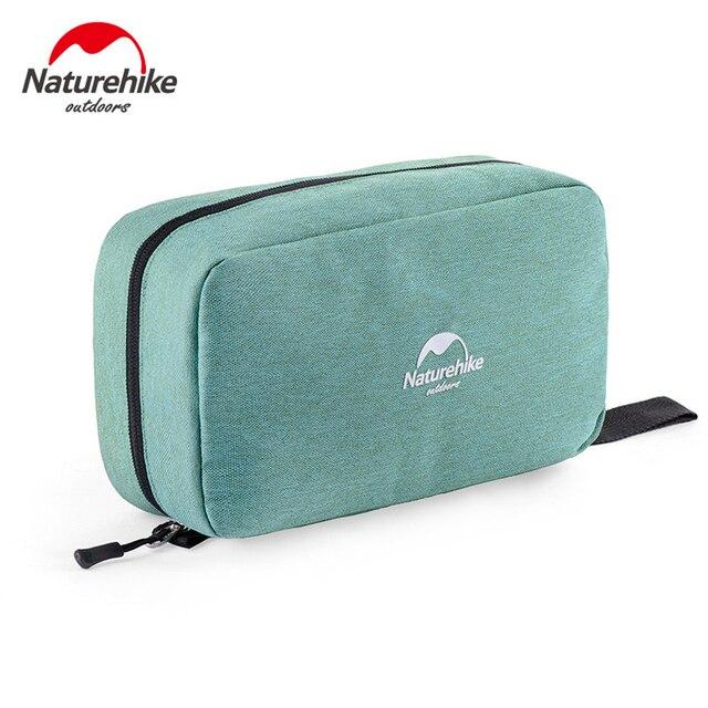 NatureHike функциональная водостойкая косметичка сухой и влажной разделения портативный сумка Спорт на открытом воздухе путешествия сумка для ...