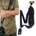 New Arrival Convenient Quick Rapid Camera Single Shoulder Sling Belt Strap Black for Digital SLR DSLR High Quality