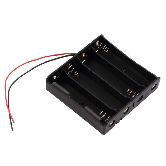 16850 Battery Storage Case Plastic Storage Box Holder With Wire ...