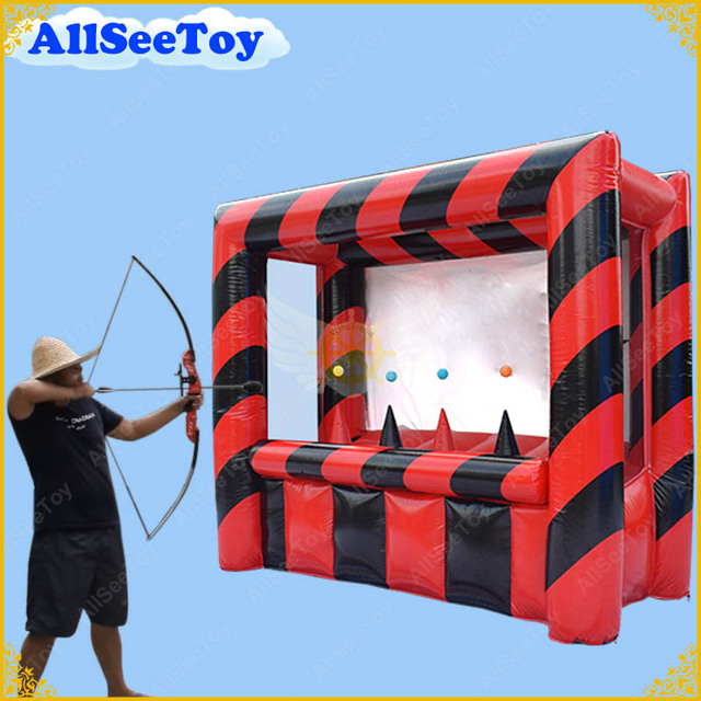 New Inflatable Sports Game for Adults, Commercial Quality Inflatable Game  for Kids, Inflatable Archery
