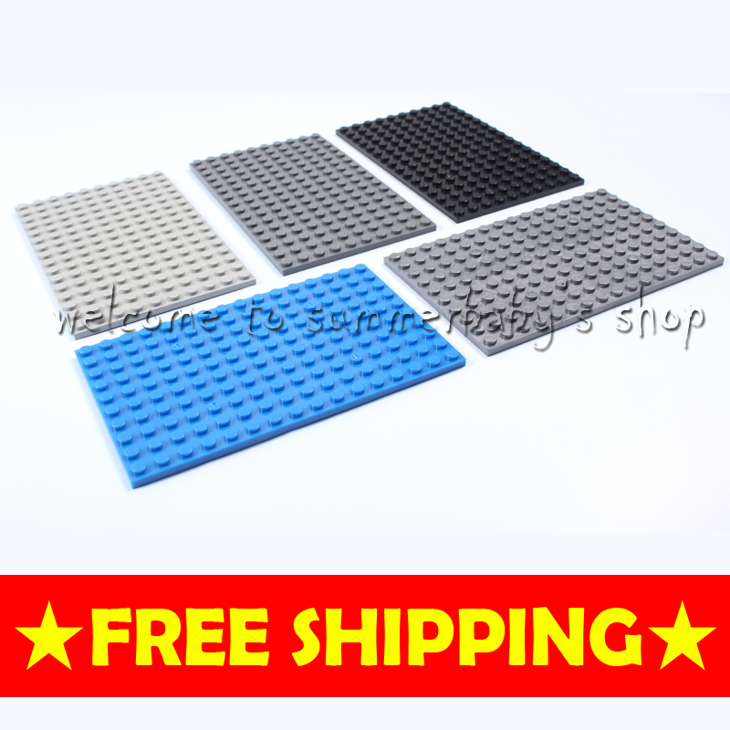 Toy Baseplate 10*16 5P DIY kid diamond Building blocks enlighten playmobil ABS Compatible minecraft