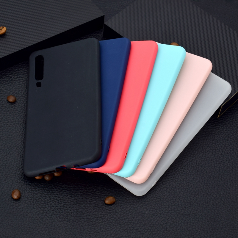 Candy Color Phone <font><b>Case</b></font> For Coque Huawei Y6 2018 Soft <font><b>Silicon</b></font> TPU Back Cover For Etui Hawei <font><b>Honor</b></font> <font><b>7A</b></font> 7 A A7 <font><b>5.7</b></font> Back <font><b>Case</b></font> image