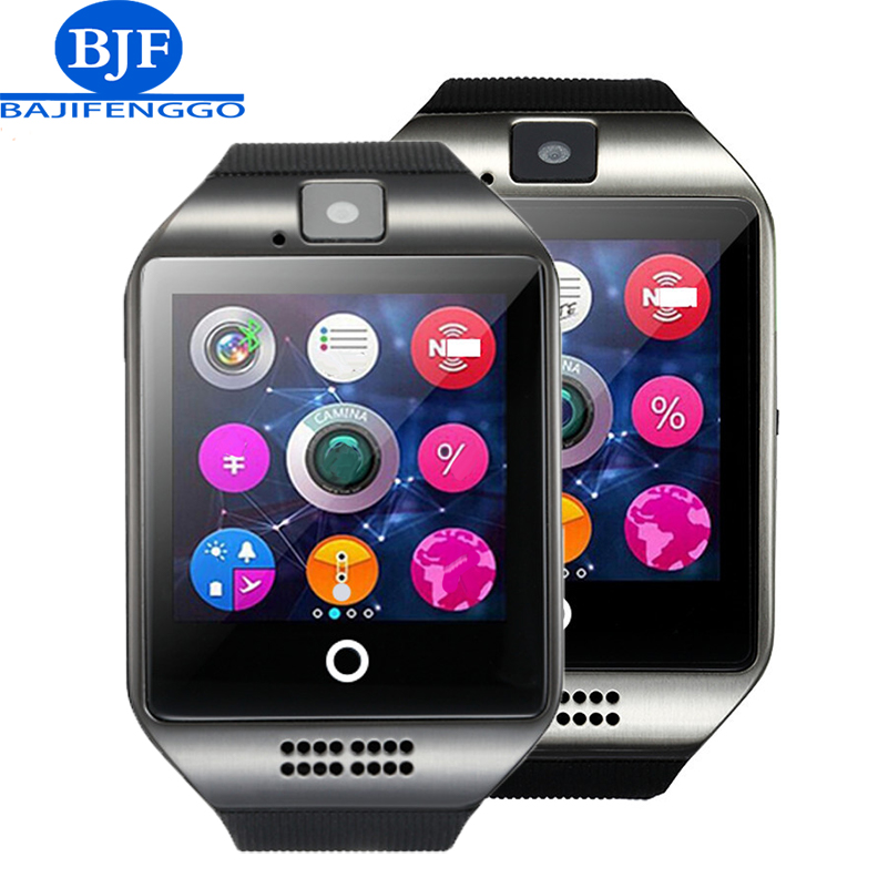 men Q18 Wearable Devices GT08 DZ09 GT88 Smart Watch Electronics Wristwatch For huawei Samsung Phone Android