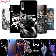 6.7 For Samsung Galaxy A70 Case Silicone Cute Clear Back Cover Soft TPU Phone Case For Samsung A70 Case A705F Coque A 70 Funda for samsung galaxy a70 case silicone anti slip carbon fiber soft tpu back cover for samsung a70 2019 case funda slim texture