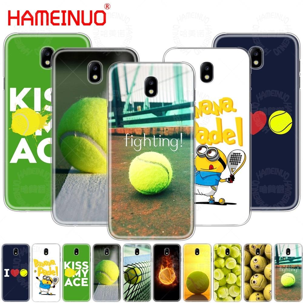 HAMEINUO tennis ball movement cover phone case for Samsung Galaxy J3 J5 J7 2017 J527 J727 J327 J330 J530 J730 PRO