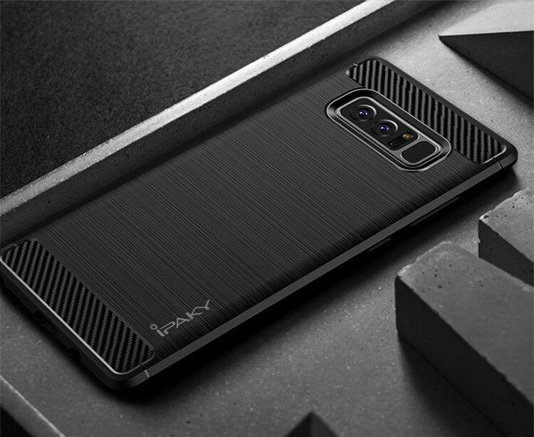 IPaky для Samsung Note 8 чехол Мягкие TPU Тонкий чехол для Galaxy Note8 ударопрочный материал матовый защитник чехол для телефона