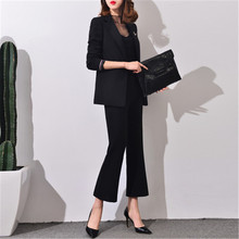 Pantsuit Women elegant business suits for women office suits for women trouser suits women Fashion Brand 2017 Spring J17CT0043