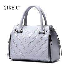 Ciker marke neue 2017 frauen tasche leder handbagshigh qualität mode-einkaufstasche top-griff tasche weibliche handtaschen bolsa feminina