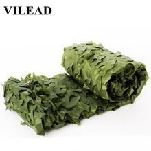 VILEAD 2*7m Jungle Camo Netting Green Digital Camouflage Netting Outdoor Sun Shelter Theme Party Decoration Car Covers Hunting vilead 2m 5m blue camouflage netting camo netting for camping paintball game outdoor balcony tent party decoration car covers