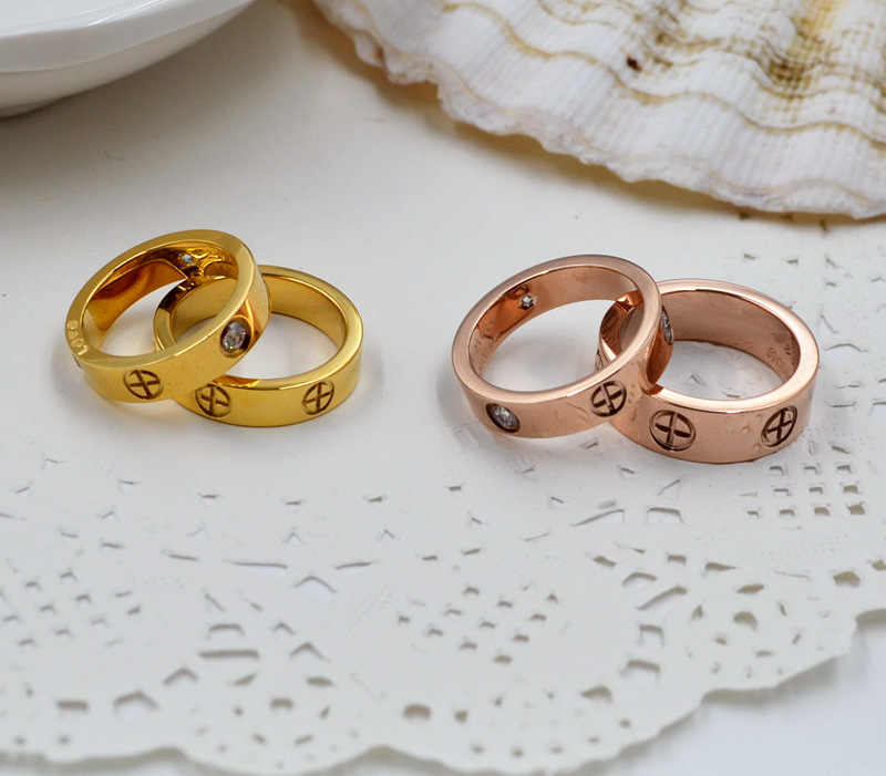 แหวน titanium แหวน Carter Cross แหวนแฟชั่นเครื่องประดับที่ดีที่สุดเพื่อนที่มีคุณภาพสูงโปรโมชั่นขายส่ง G0123
