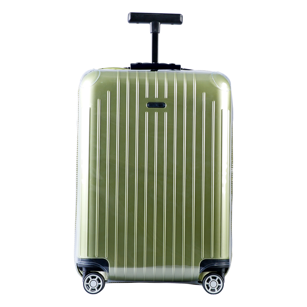 RainVillage luggage covers Suitcase Cover Clear Protector PVC luggage Holder Waterproof with Zipper for Rimowa Salsa Air plywood