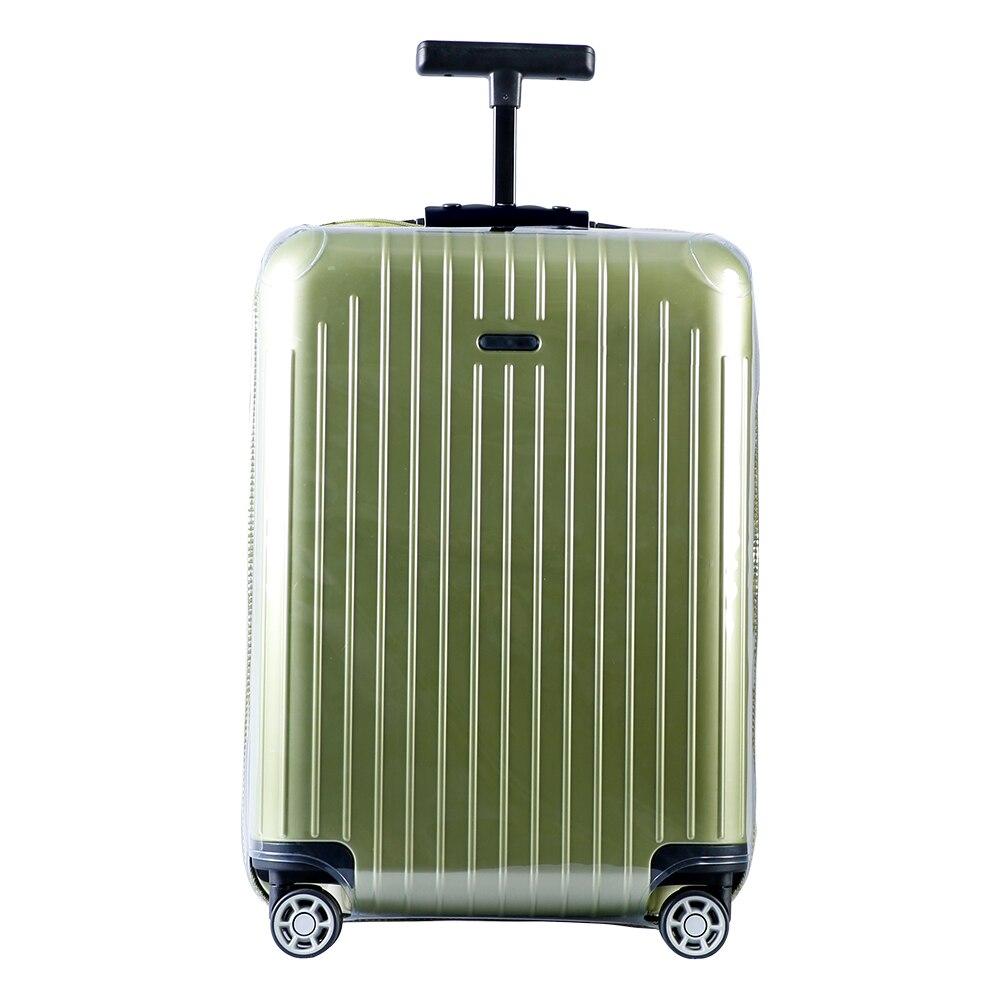 RainVillage tampas bagagem Mala Capa Protetor Claro PVC etiqueta de bagagem Titular À Prova D' Água com Zipper para Rimowa Salsa Air