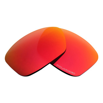 Mryok+ POLARIZED Resist SeaWater Replacement Lenses For Oakley Hijinx Sunglasses Fire Red