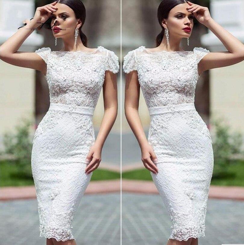 752a5eedef LUCHA Verdadera 2016 Elegantes Vestidos de Coctel Robe De Vestidos de  Encaje partido de tarde de coctel corto vestidos de graduación sweet 16  años en ...