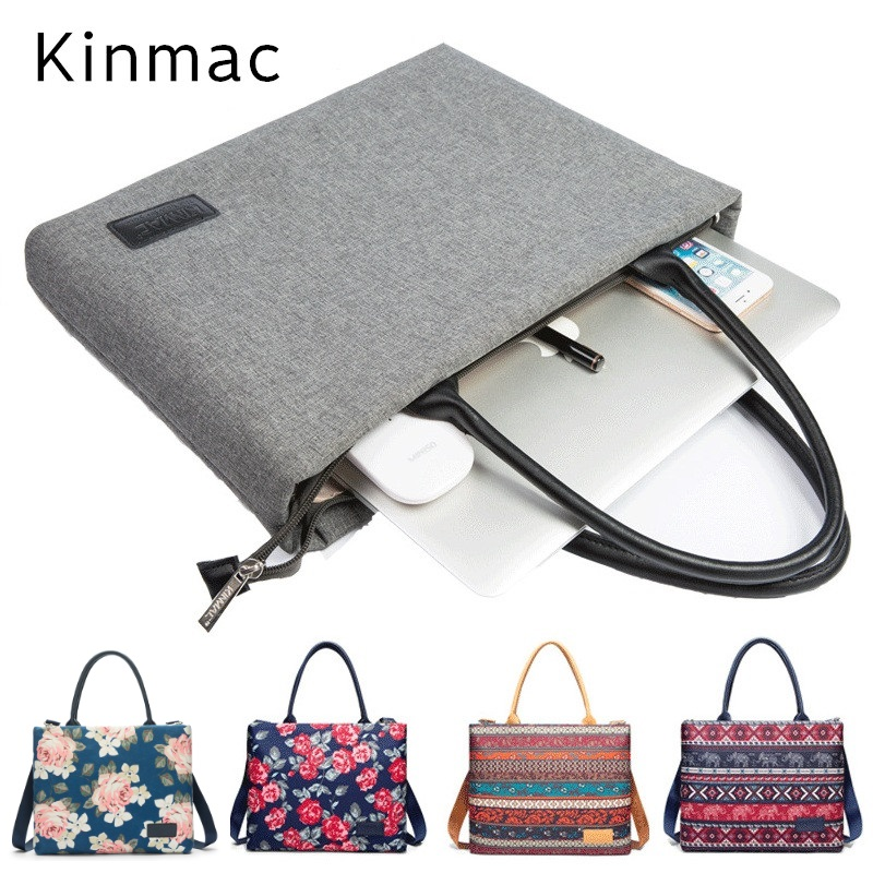 2018 Newest Kinmac Brand Messenger Bag Handbag,Case For Laptop 13,14,15,15.6,For MacBook 13.3,15.4 inch, Free Drop Shipping hot ladies handbag for laptop 14 for macbook air pro retina 13 3 13 14 1 notebook lady bag women purse free drop shipping