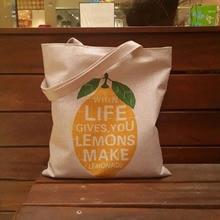 Women's Handbags bolsa feminina Korean Fresh Shoulder Bag for Student Teenager Girls Simple Canvas Tote Shopping Bag  4 Styles