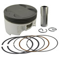Motorcycle Engine parts +50 Cylinder Bore Size 83.5mm Pistons & Rings Kit For YAMAHA YP400 Majesty YP 400