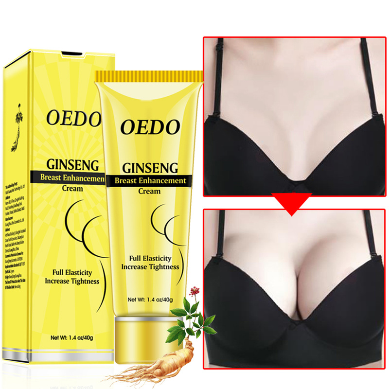 Ginseng Breast Enlargement Cream Effective Full Elasticity Breast Enhancer Increase Tightness Big Bust Cream Breast Care TSLM1