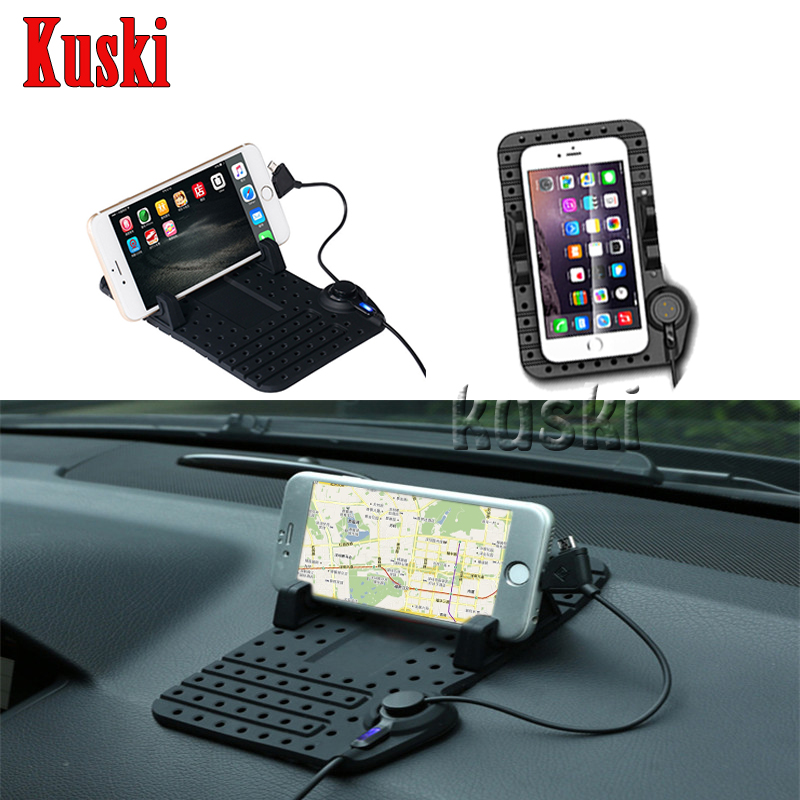Car Anti-skid Pad Phone Holder Charger Sticker For Mini Cooper R56 R50 R53 F56 F55 R60 For Porsche 911 Cayenne Macan Accessories 10x car wheel snow chains for mini cooper r56 r50 r53 f56 f55 r60 r57 for alfa romeo 159 147 156 166 gt mito accessories