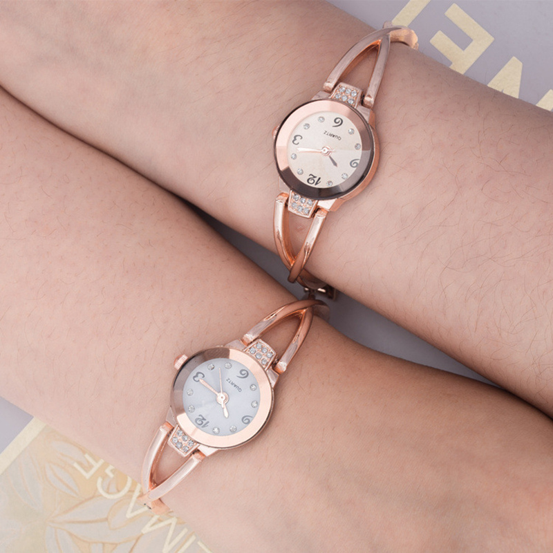 Fashion Small Dial Women casual Watch Bracelet Ladies steel Wristwatch female diamond Alloy dress Watches Quartz clock hours 2016 women diamond watches steel band vintage bracelet watch high quality ladies quartz watch