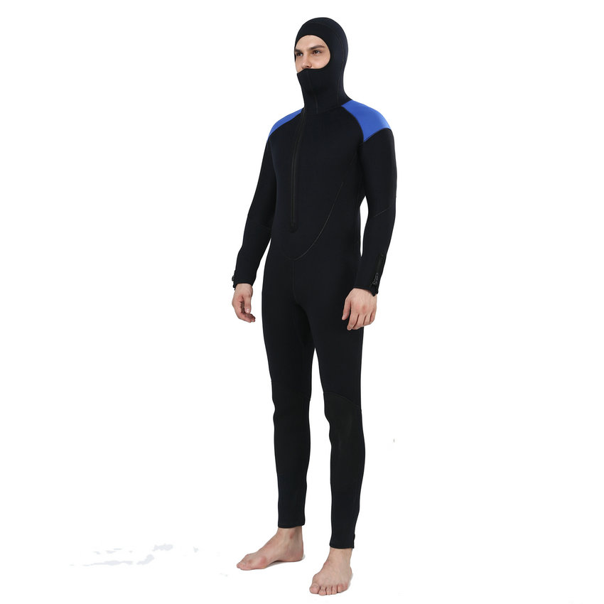Realon Spearfishing 5MM Neoprene Wetsuit Men with Hoodies Scuba - Sportswear and Accessories - Photo 3