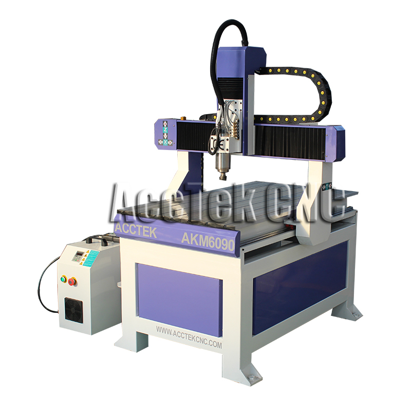 Customized Cast Iron Working Table Wood Engraving Machine Cnc Router For Sale Canada AKM6090