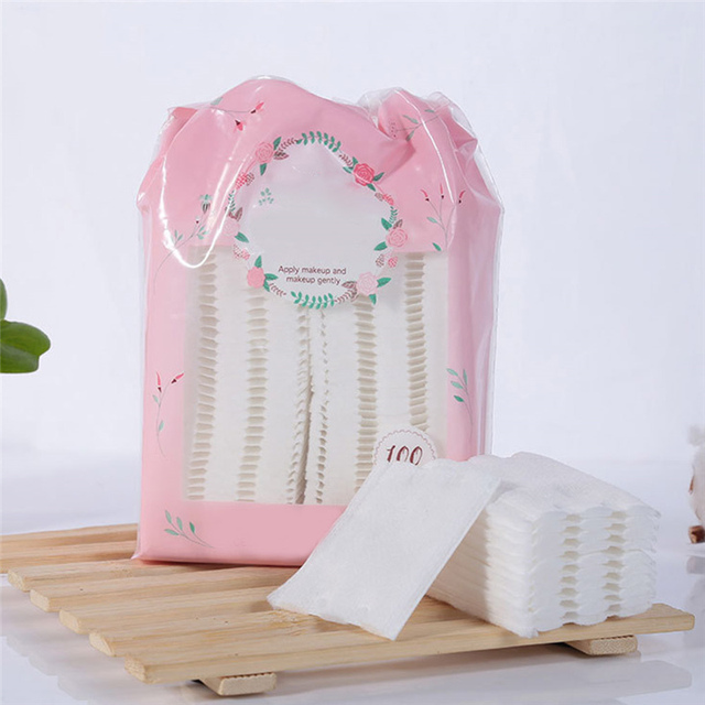 100pcs High Quality Makeup Cotton Cleansing Remover Cotton  1
