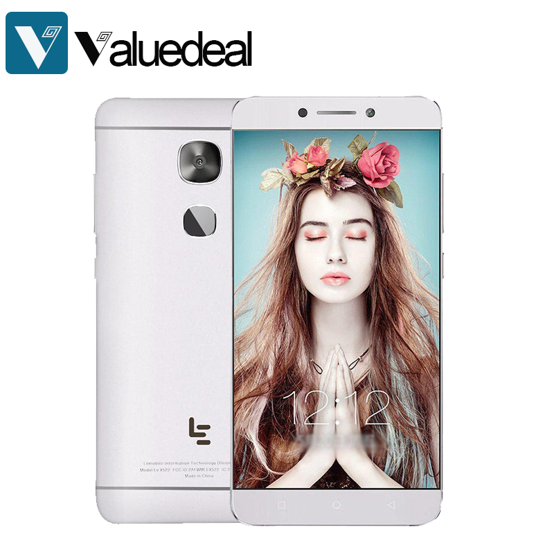 LeTV LeEco Le S3 X626/x522/Leeco le x526 5 5 Inch 4G LTE Smartphone Octa  Core 3GB RAM 32GB ROM 16 0MP Android 6 0 mobile phone