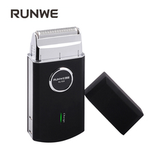 RUNWE RS709 Reciprocating Razor Electric Shaver For Men Portable Travel Gift Scraper Rechargeable Beard Knife
