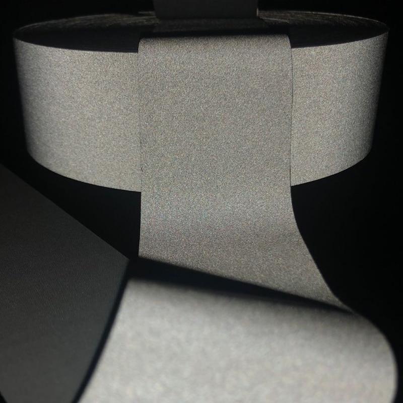 5cmx5m  EN ISO 20471 Reflective Fabric Sew On Safe Clothing