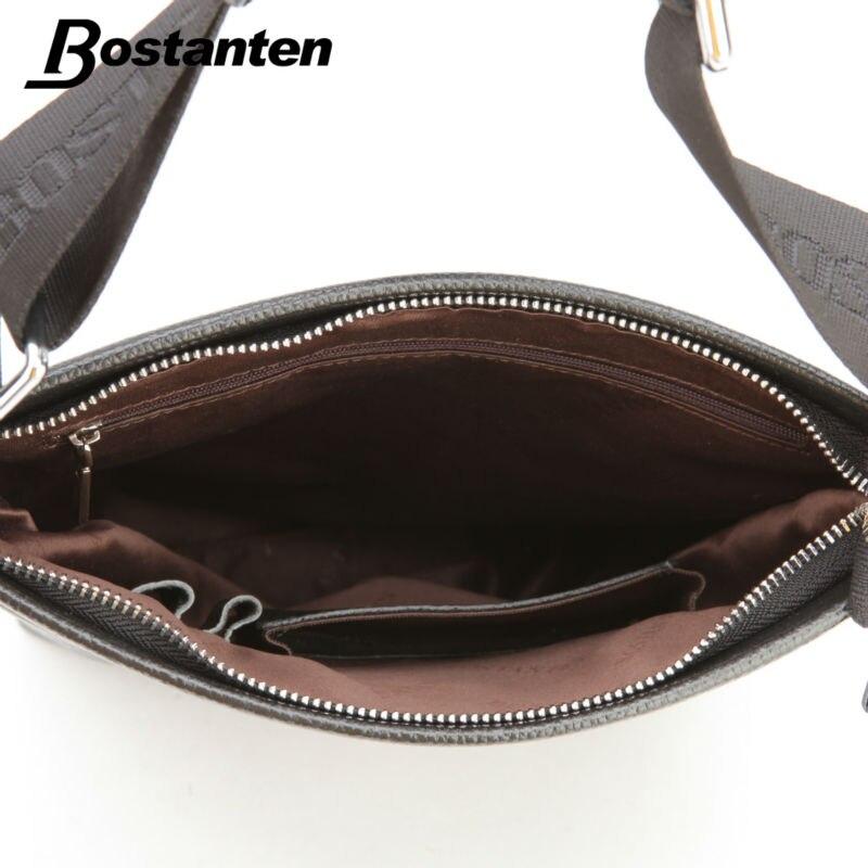 para o homem Tipo OF The Handbag : Bostanten Business Genuine Leather Men's Messenger Bags