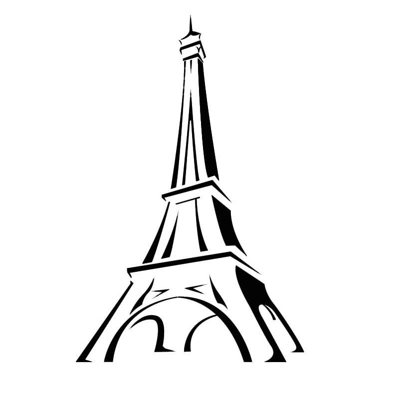 Eiffel Tower Wall Decor paris wall decor. eiffel tower wall sticker eiffel tower wall