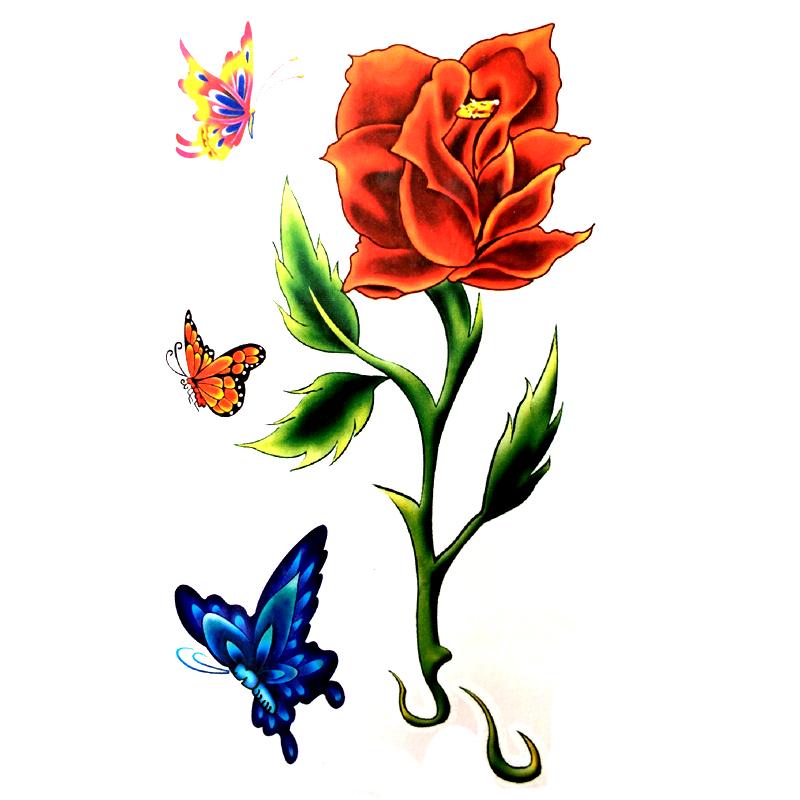 rose fleur tatouages-achetez des lots à petit prix rose fleur