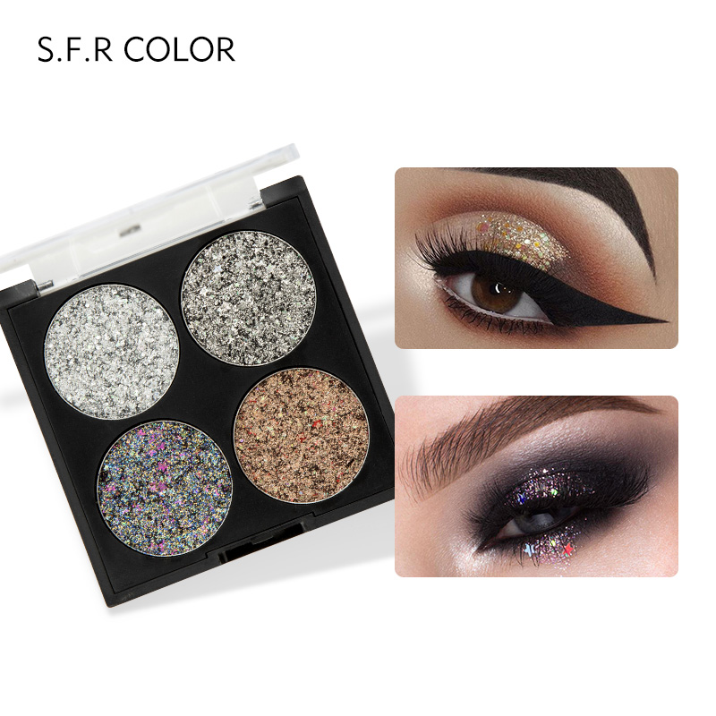 Beautiful Pudaier Glitter Eyeshadow Palette Yeux Sombra Makeup Metallic Festival Eye Shadow Powder Shimmer Maquiagem Blue Eye Cosmetics With The Most Up-To-Date Equipment And Techniques Beauty Essentials