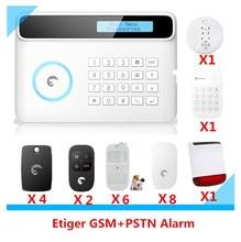 Big sale Wireless Etiger S4 GSM Alarm system Smart Home Security alarm system with Solar power