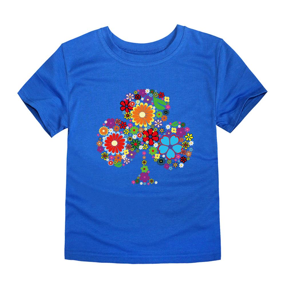 HTB1T5EXRFXXXXc8XpXXq6xXFXXXF - TINOLULING 2018 Summer Kids Flower Tree T-Shirt Boys Girls Tree T Shirt Children Tops Baby Tees For 2-14 Years