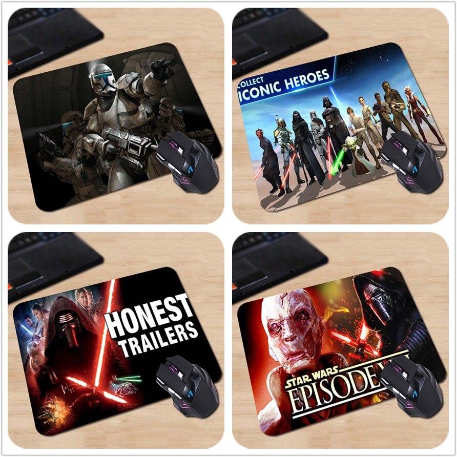 2015 Sıcak Satış Yıldız Savaşları Cumhuriyeti Komando Özelleştirilmiş Mouse Pad Bilgisayar Dizüstü Dizüstü Ekipmanları Dekor Gaming Mouse Mat