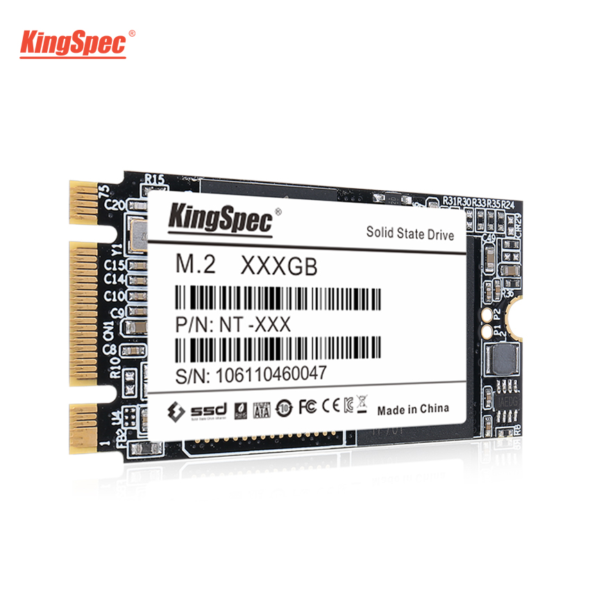 22*42mm M.2 KingSpec 500 gb SSD SATA III 6 gb/s NT-512 M2 SSD de 512 gb HDD Interno disco Rígido para Laptops/PC/Desktops/Ultrabook