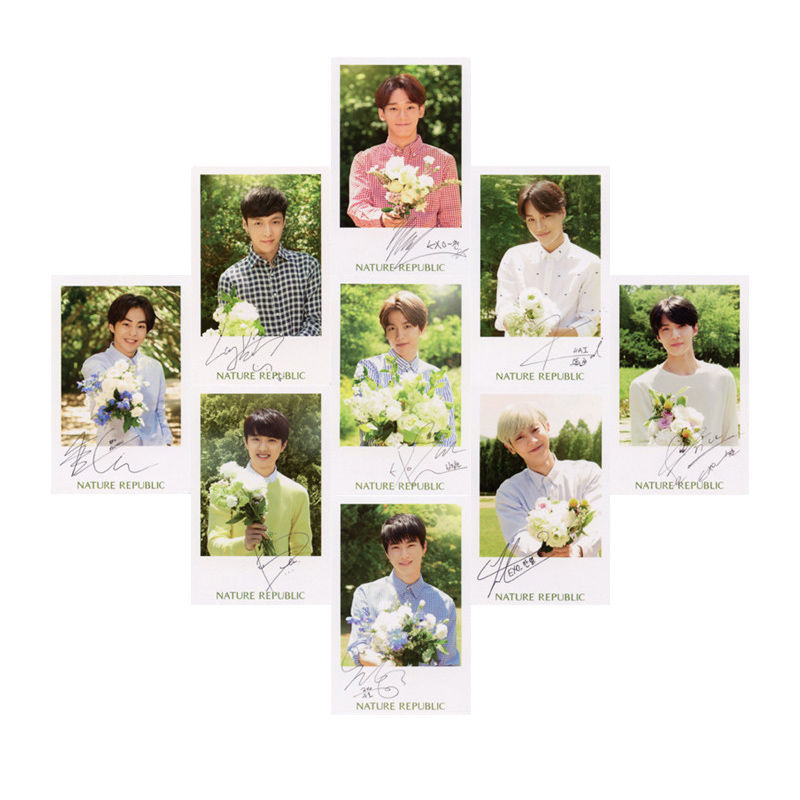 Youpop KPOP EXO Japan Coming Over Album Photo Card K-POP Self Made Paper Cards Autograph Photocard XK403