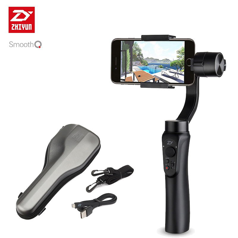 Zhiyun Handheld 3 Axis phone gimbals Stabilizer for font b action b font camera Smartphone gopro