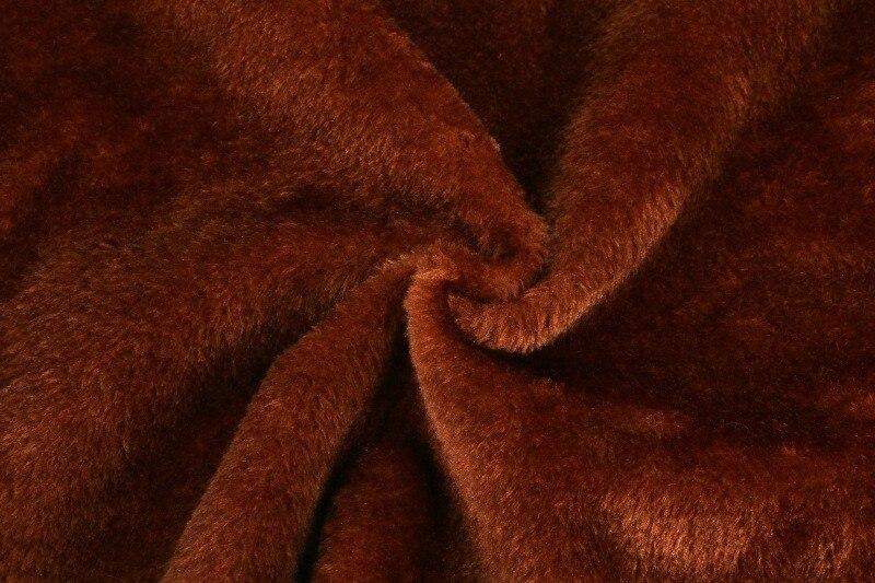 8 волос Высокая резка круг мех/8 мм плюш/синтетический мех животных/