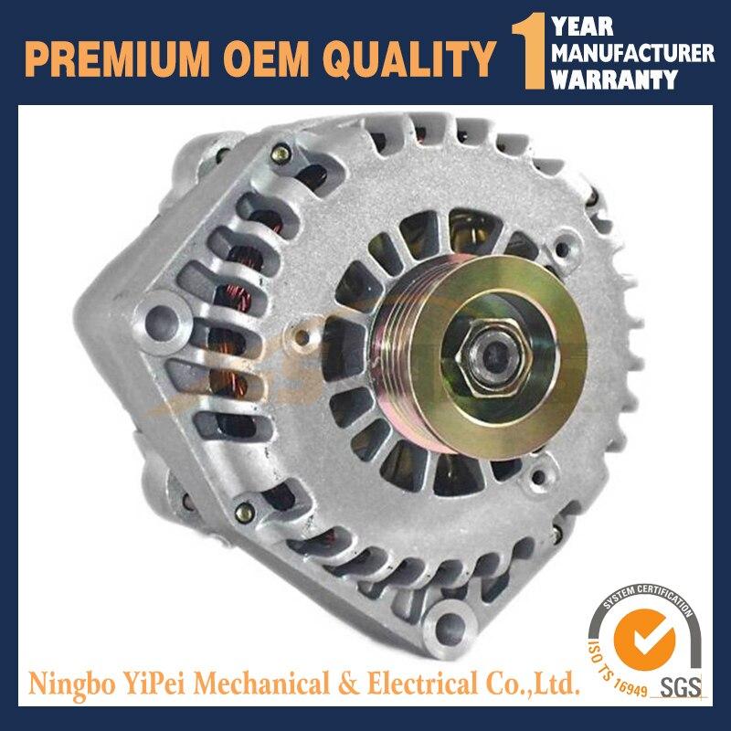 12 V alternador Novo para Chevrolet GMC 19118689 21210114