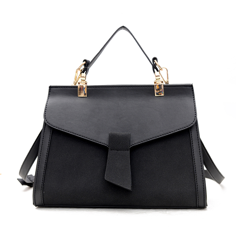 Women Bag Handbags Leather Messenger Bags Over Shoulder Crossbody Black Tote Luxury Designer Fashion Black Handbag Girl Bags women shoulder bags leather handbags shell crossbody bag brand design small single messenger bolsa tote sweet fashion style