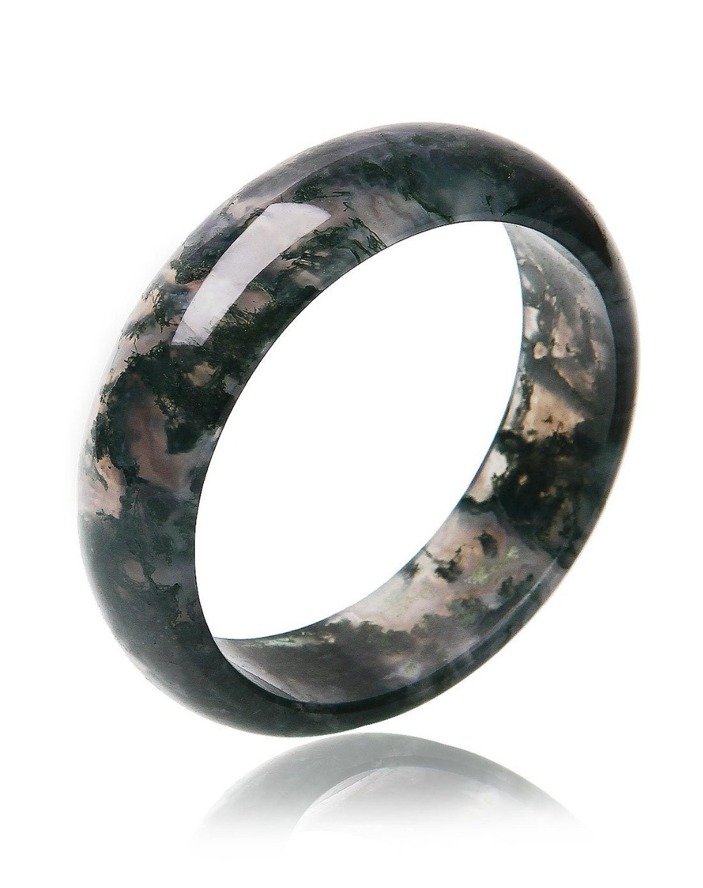 High Quality Pure Natural Aquatic Plants Bangles Round Bracelets Bangles For Women Fashion Stone Jewelry fashion 2 size pure tungsten steel hematite couple bracelets bangles for women jewelry mens silver color bracelets for lover s
