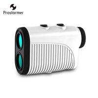 Prostormer Rechargeable Laser Rangefinder Golf Hunting 500M Handheld Monocular Metre Laser Rangefinder Distance Meter Telescope