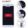 100% testado original 5.5 polegada preto branco 1280x720 exibição para huawei g7 lcd touch screen com quadro g7-i01 g7-i03 substituição